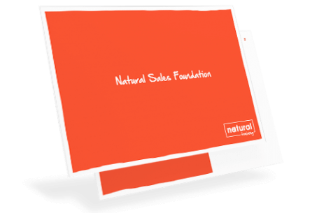 Natural Sales Foundation cover